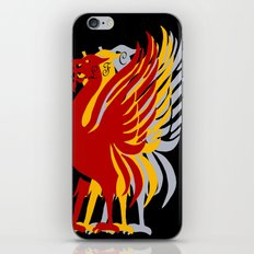 Liverpool FC and city emblem the Liver Bird  iPhone & iPod Skin