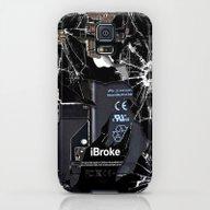 Broken, Rupture, Damaged… Galaxy S5 Slim Case