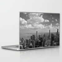 chicago Laptop & iPad Skins featuring chicago... by Chernobylbob