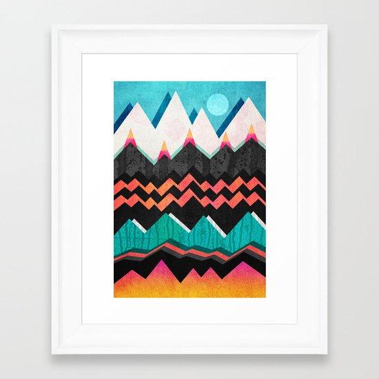 Candyland - Licorice dream Framed Art Print