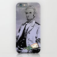 iPhone & iPod Case featuring Inked Lincoln by Jacob Clark