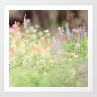 SUMMER HIKE  Art Print