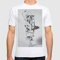 Diamond Dancer Mens Fitted Tee Ash Grey SMALL