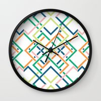 Villages Wall Clock
