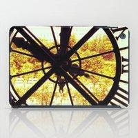 Clock in Musee D'Orsay, Paris iPad Case