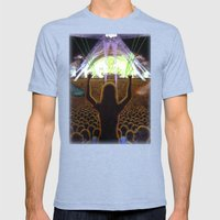 The Concert Mens Fitted Tee Tri-Blue SMALL
