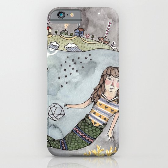 Mermaid and Narwhal Friend iPhone & iPod Case