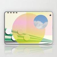 Peach Sky Laptop & iPad Skin