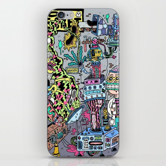 How It's Made: Skateboard Edition iPhone & iPod Skin