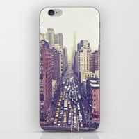Flying Over First... (co… iPhone & iPod Skin