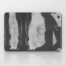 boots hooves + bows iPad Case