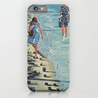 Walk on the Beach iPhone 6 Slim Case