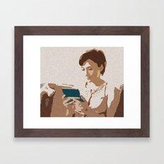 A Zelda Between Worlds Framed Art Print