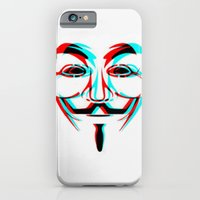 iPhone & iPod Case featuring Anonymous.2 by Laure.B