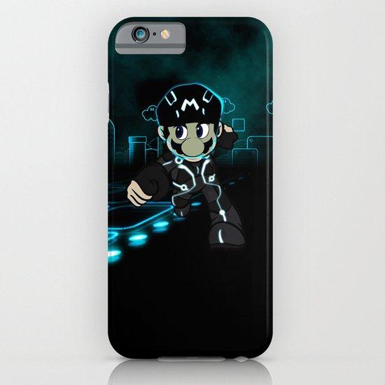Mario Tron iPhone & iPod Case