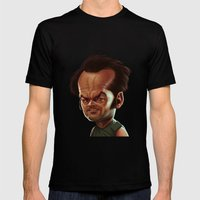 Jack Nicholson Mens Fitted Tee Black SMALL