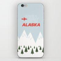 Alaska Trip iPhone & iPod Skin