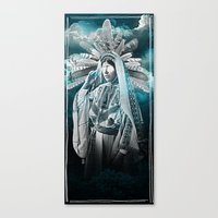 SORCERESS Canvas Print