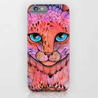 iPhone Cases featuring SUNSET CAT by ola liola
