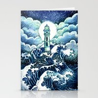 even in the darkest night light will prevail Stationery Cards