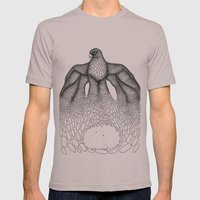 Falcon Mens Fitted Tee Cinder SMALL