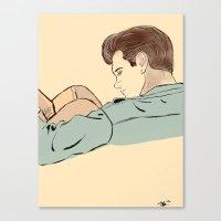 Isaaky Baby Canvas Print