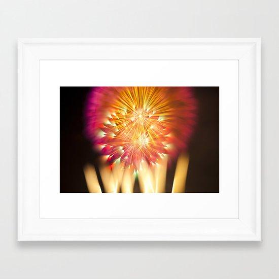 Efflorescence 13 Framed Art Print