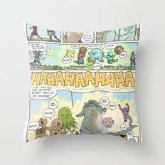 GAMMA page 7 Throw Pillow