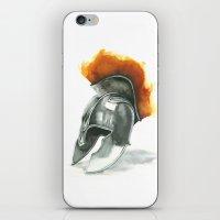 Helmet iPhone & iPod Skin