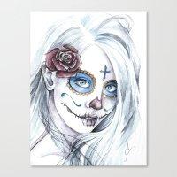 La Bella Muerte  Canvas Print