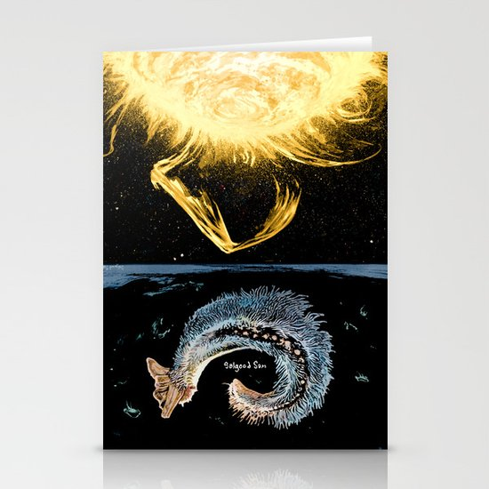 Life on the event horizon 4 Stationery Card