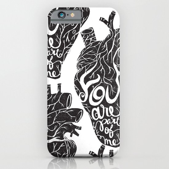 YOU ARE PART OF ME iPhone & iPod Case