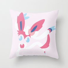 Sylveon Throw Pillow