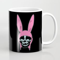 Grey Rabbit/Pink Ears Mug