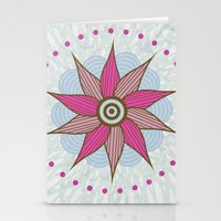 Stargroove Flower Stationery Cards