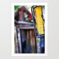 Rear View Art Print