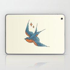 Swallow Tattoo - Colour Laptop & iPad Skin