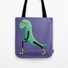 Worming Up Tote Bag