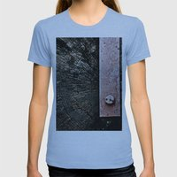 Wooden Energy Womens Fitted Tee Athletic Blue SMALL
