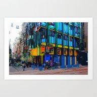 Amsterdam 16 Art Print