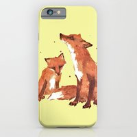 iPhone & iPod Case featuring Lemon Foxes by eastwitching