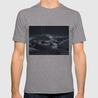 Ice City Mens Fitted Tee Athletic Grey SMALL