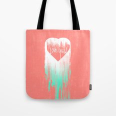 LOVE YEW Tote Bag