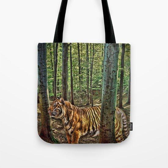Tiger Woods Tote Bag