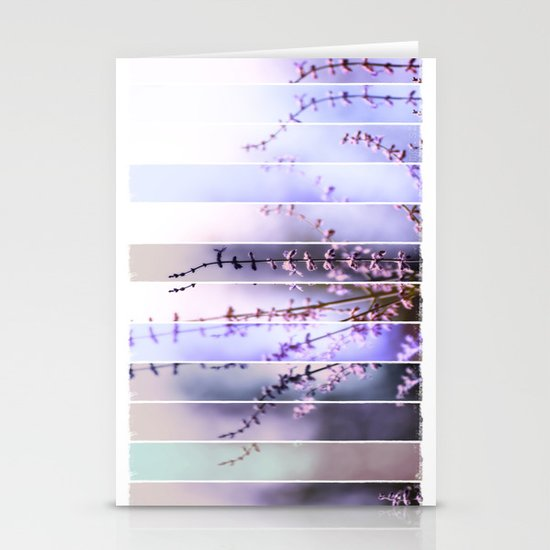 FLOWER - TWELVE Stationery Card
