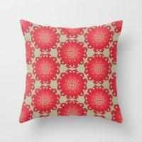 Wonderful Waratah Throw Pillow