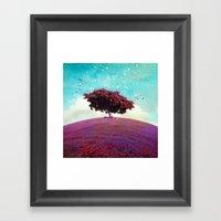 SUMMER HILL Framed Art Print