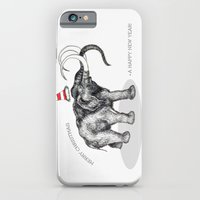 iPhone & iPod Case featuring Merry Christmas by Nicole Cioffe