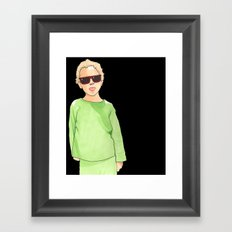 Ray-Ban Kid Framed Art Print