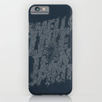 iPhone & iPod Case featuring Smells Like Teen Spirit by Vó Maria